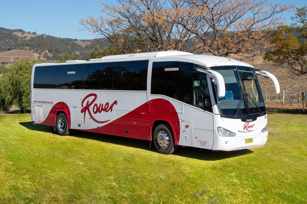 LUXURY COACHES - 57 AND 61 SEAT ULTRA MODERN SEMI COACHES & BUSES.